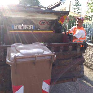 raccolta organico AAMPS Livorno